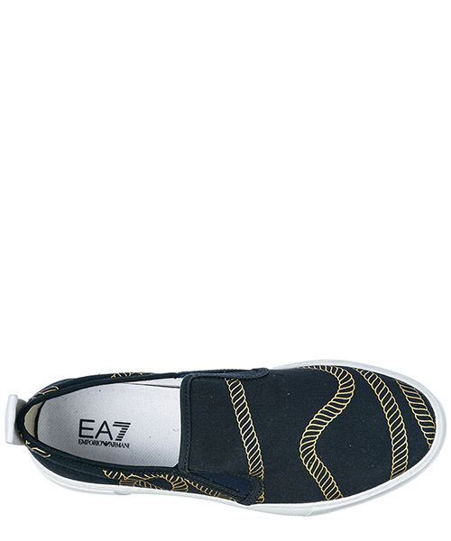 136d150f78a2 Emporio Armani EA7 Damen mokassins slip on sneakers