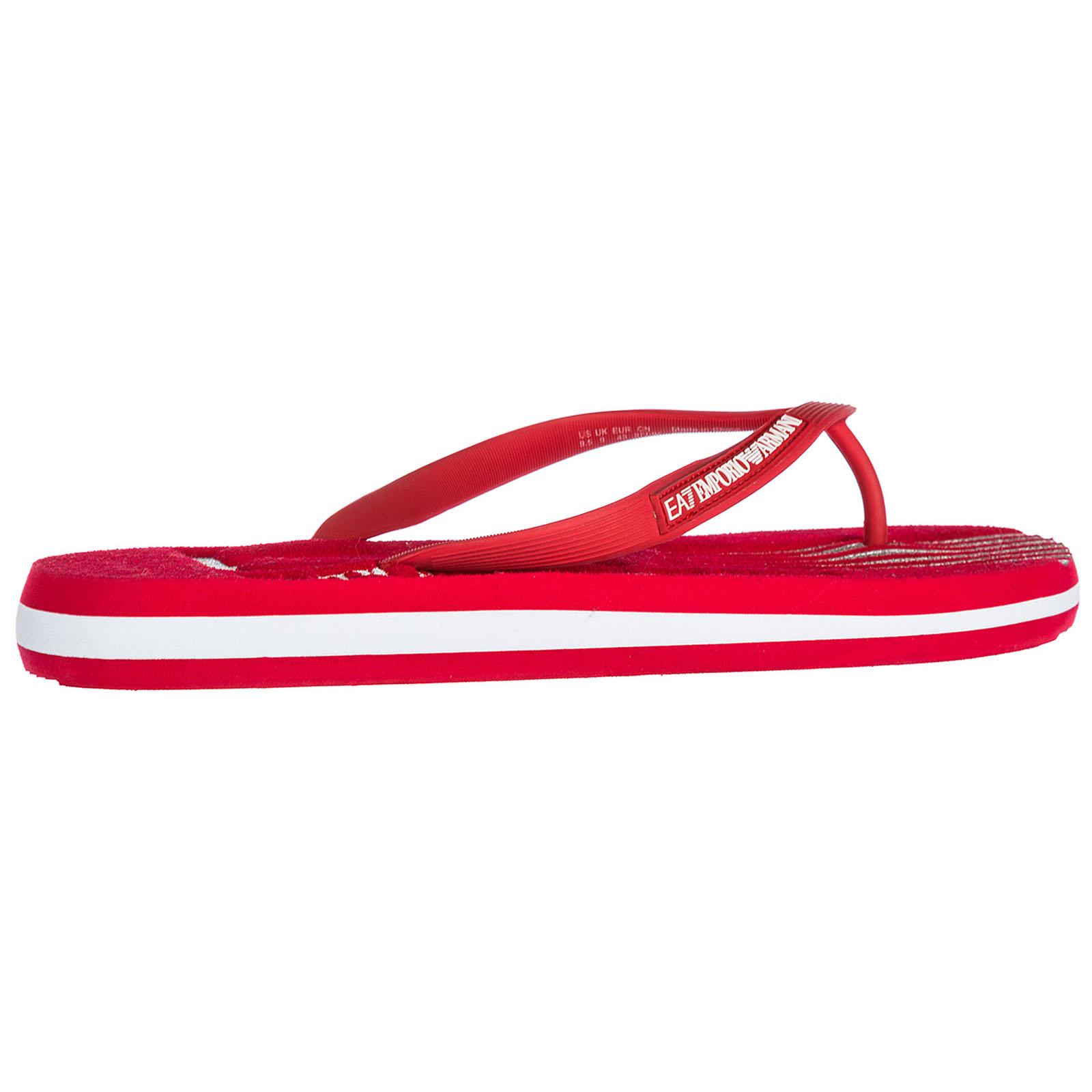 4bbc68ee1344 Emporio Armani EA7 Men s rubber flip flops sandals sea world