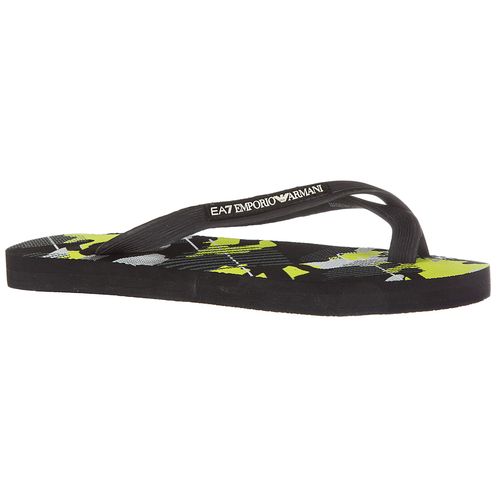 Tongs homme en caoutchouc  sea world visibility