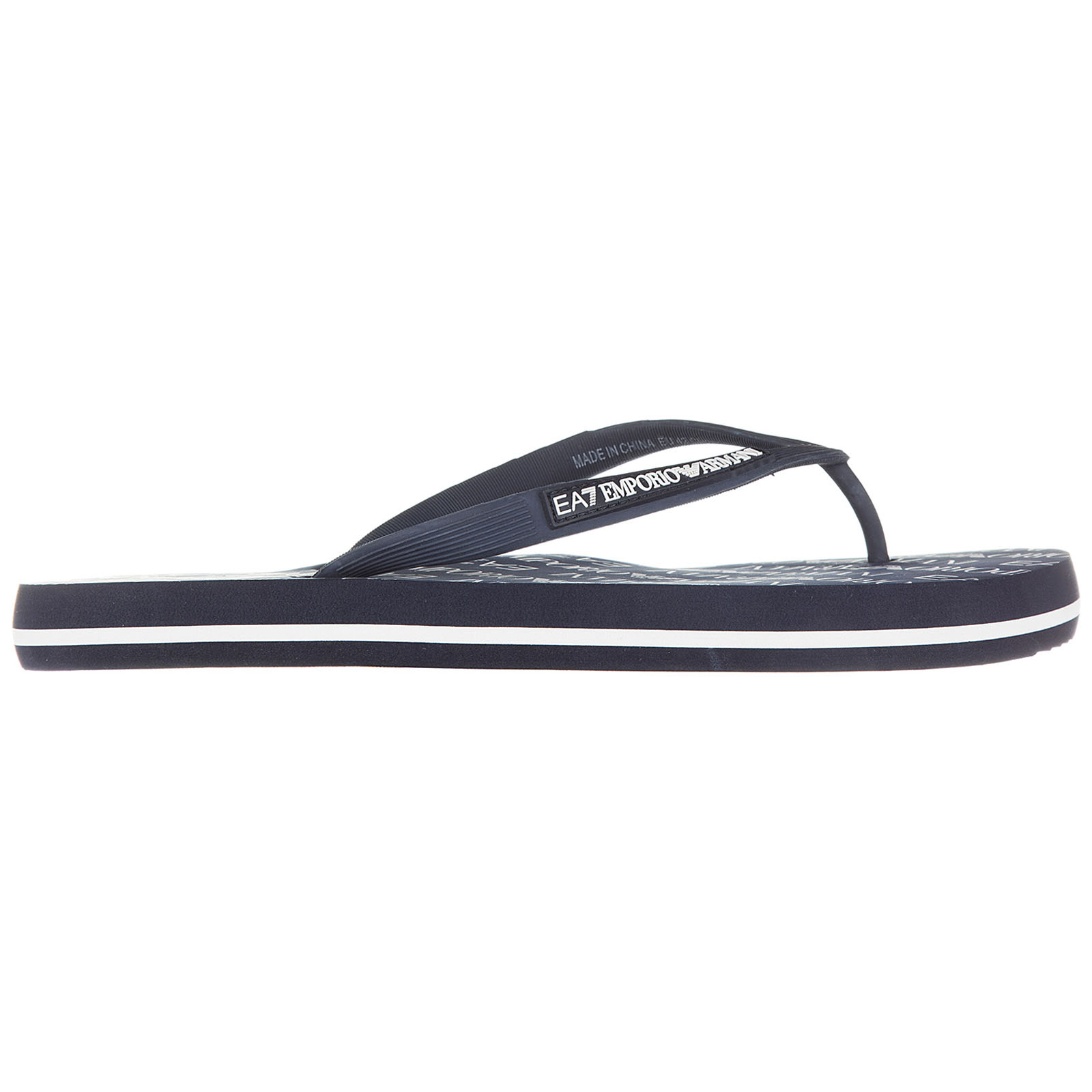 7a7e53be0 Emporio Armani EA7 Men s rubber flip flops sandals sea world