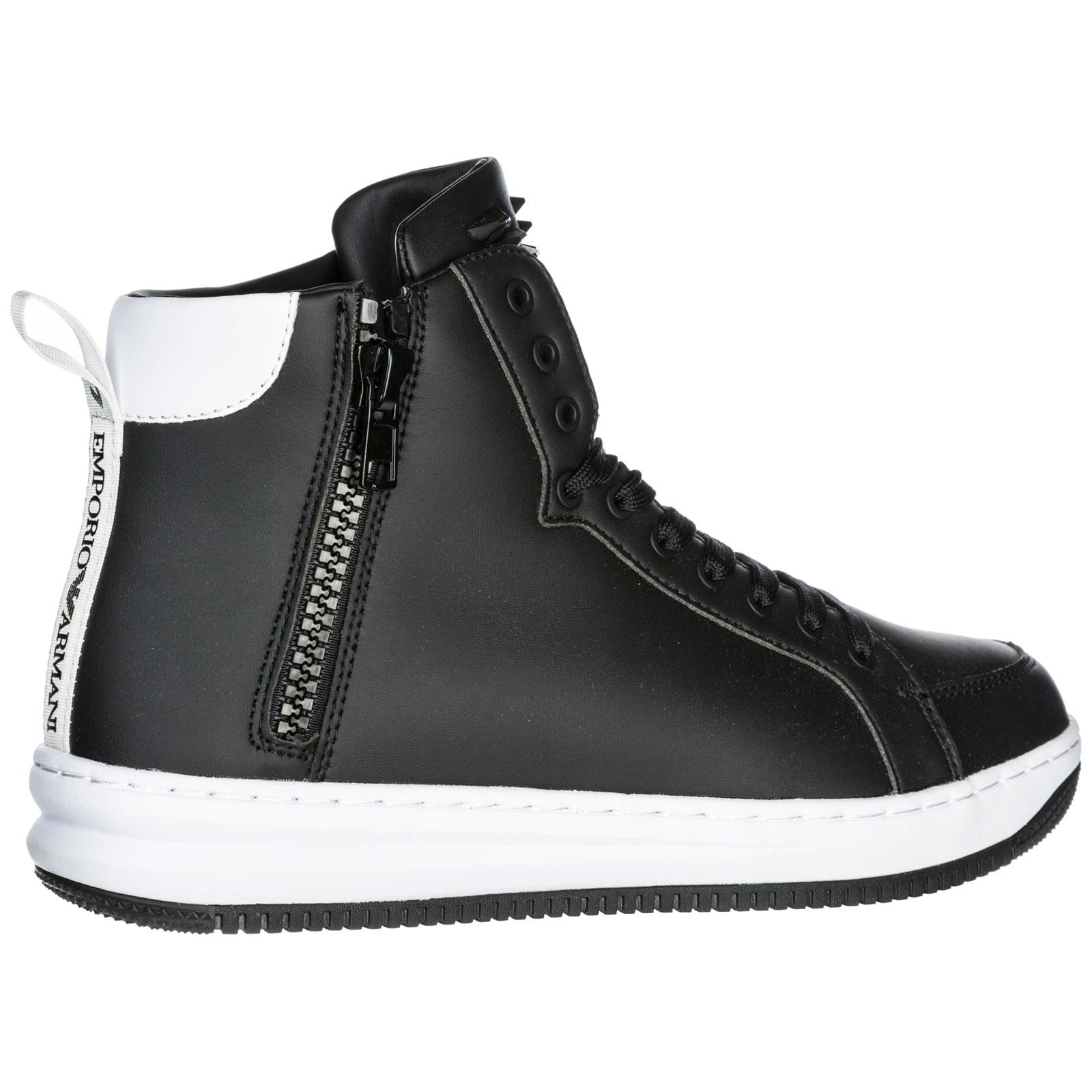 Sneakers alte Emporio Armani EA7 X8Z007XK02500002 nero  94230fc5be8
