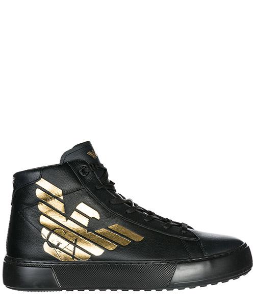 Sneakers alte Emporio Armani EA7 X8Z001XK003A276 nero
