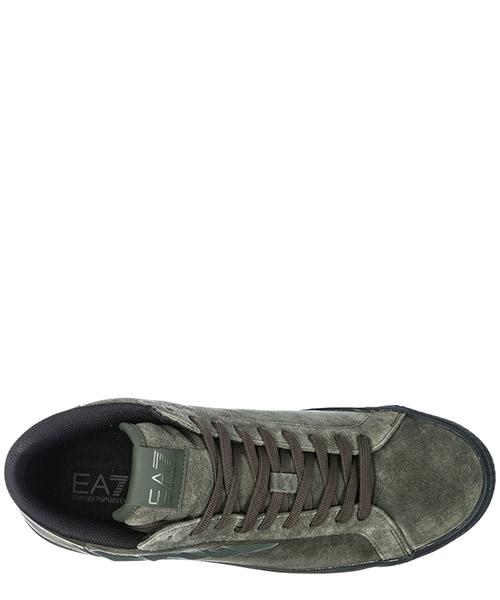 Scarpe sneakers alte uomo in camoscio secondary image