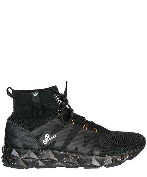 Sneakers alte Emporio Armani EA7 X8Z006XK022A005 black + orange