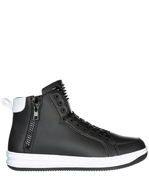 Sneakers alte Emporio Armani EA7 X8Z007XK02500002 nero