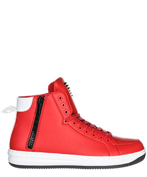 Sneakers alte Emporio Armani EA7 X8Z007XK02500029 rosso