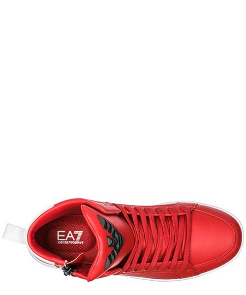 Scarpe sneakers alte uomo in pelle secondary image