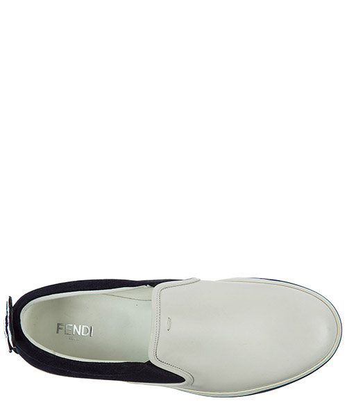 Slip on homme en daim sneakers secondary image