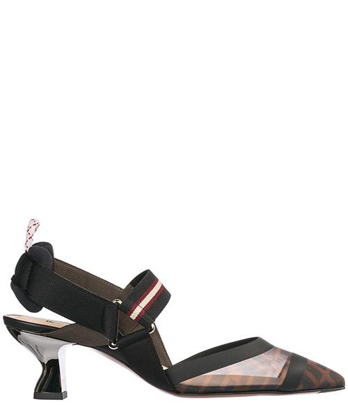 Zapatos de tacon Fendi 8J6716A2D7F1OTR nero