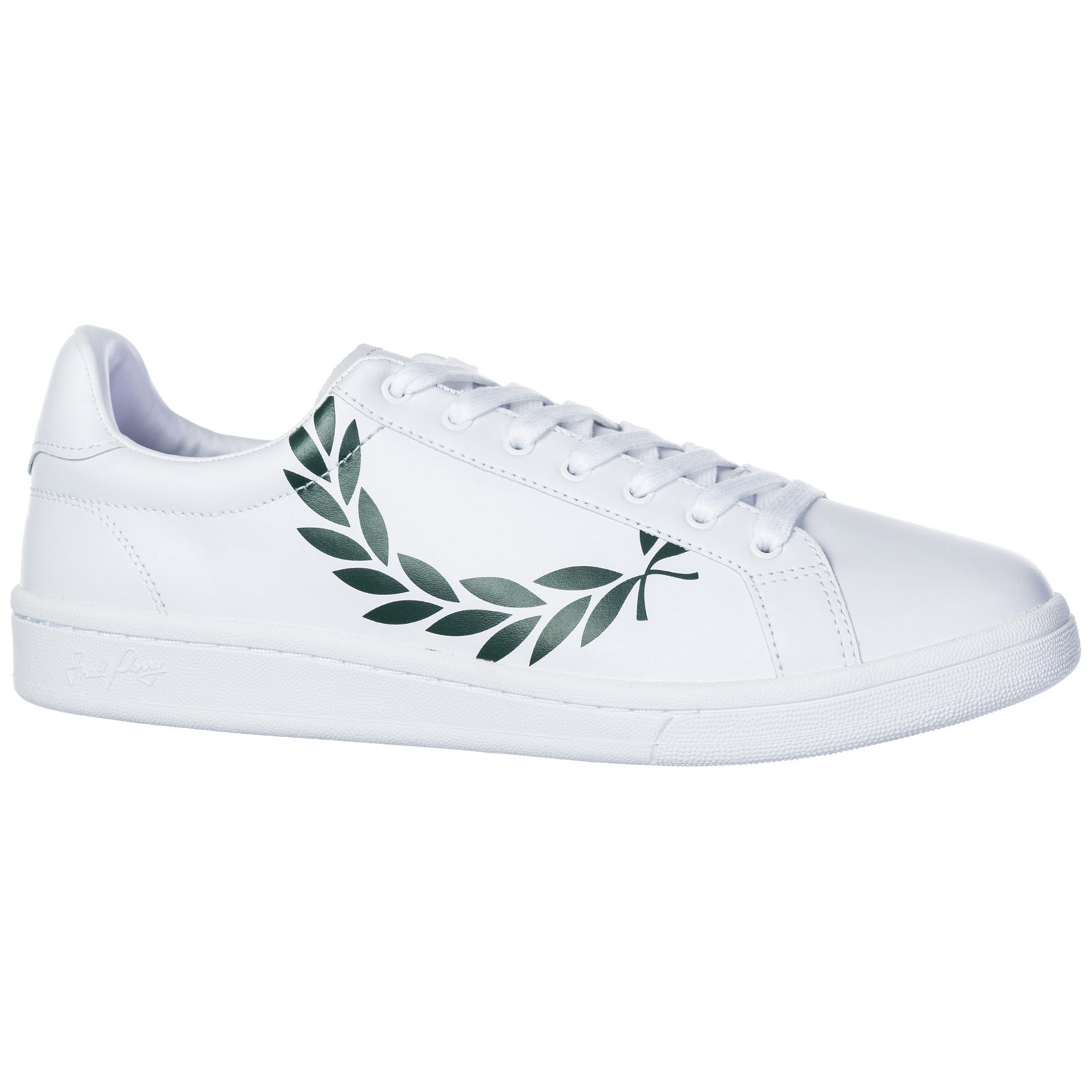 Men's shoes leather trainers sneakers b721 laurel