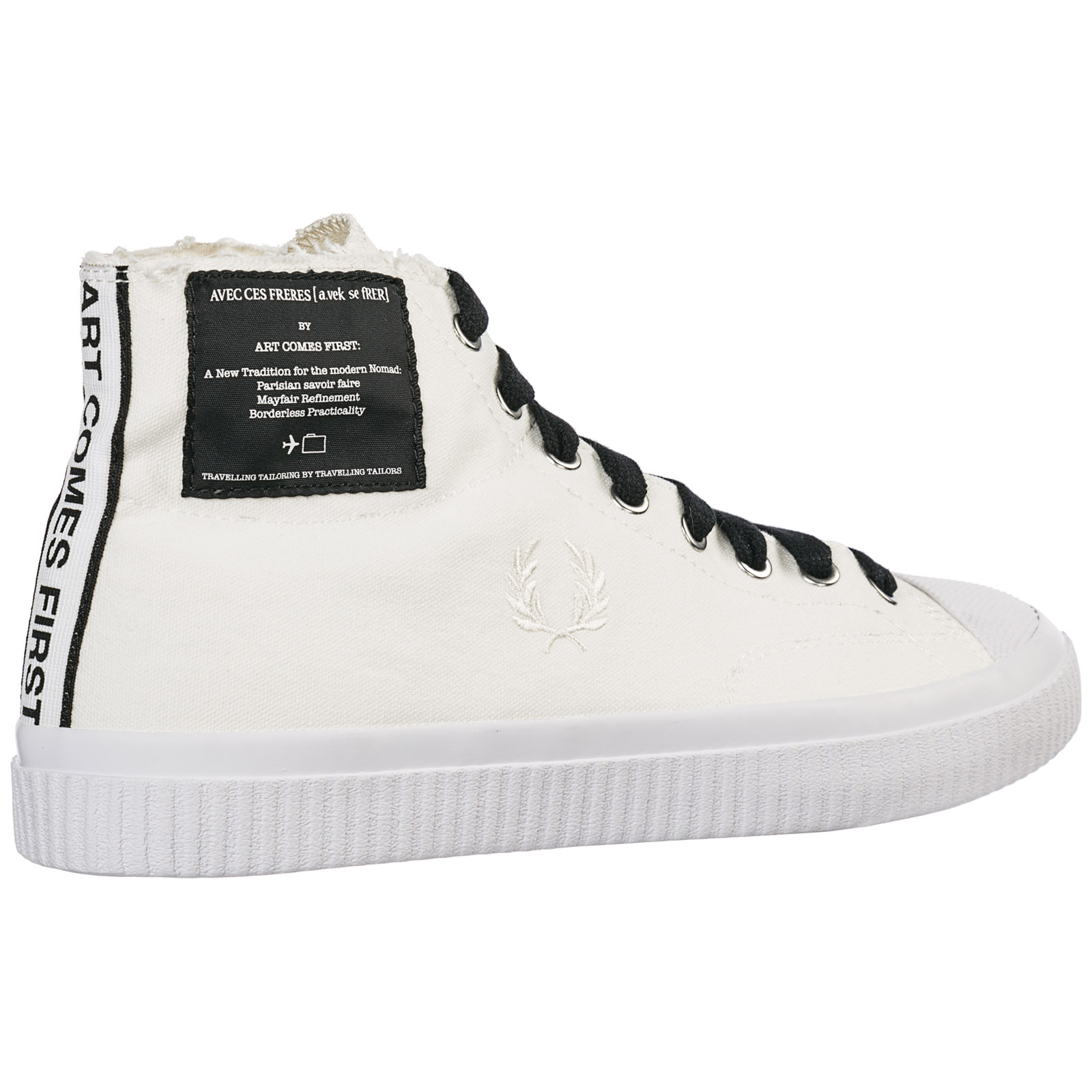B5266 Fred White Perry Alte Hughes Snow Sneakers gvfy6bY7
