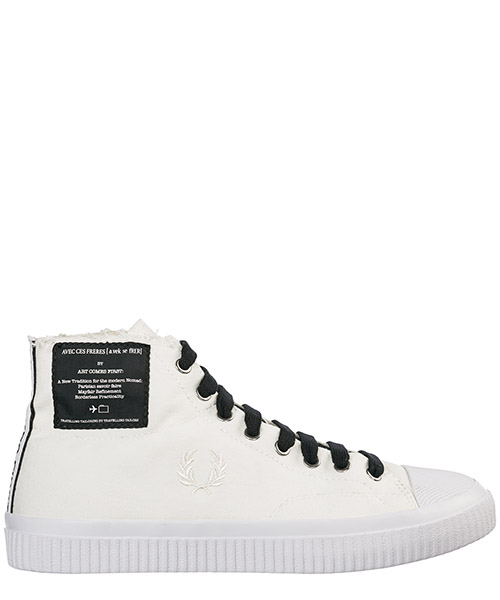 Zapatillas altas Fred Perry Hughes B5266 snow white