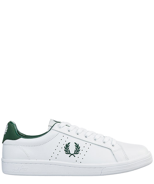 Zapatillas  Fred Perry b6201 b721 white