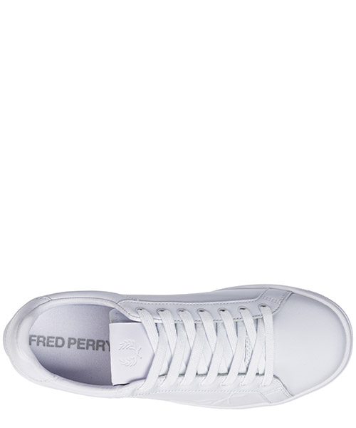 Men's shoes leather trainers sneakers laurel secondary image