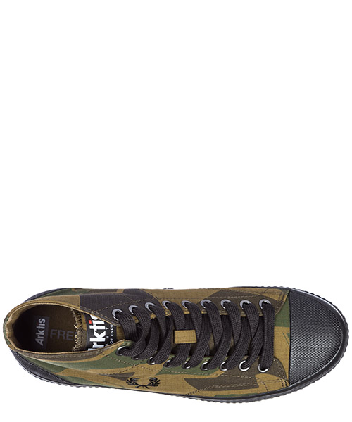 Chaussures baskets sneakers hautes homme hughes arktis secondary image