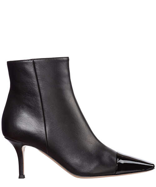 Heeled ankle boots Gianvito Rossi g05609.70ric.vennene nero