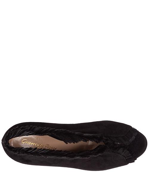 Damen wildleder stiefeletten stiefel ankle boots mit absatz ginevra secondary image