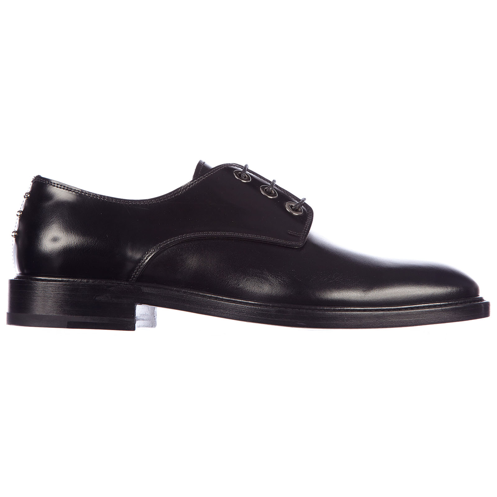 Men's classic leather lace up laced formal shoes derby nino