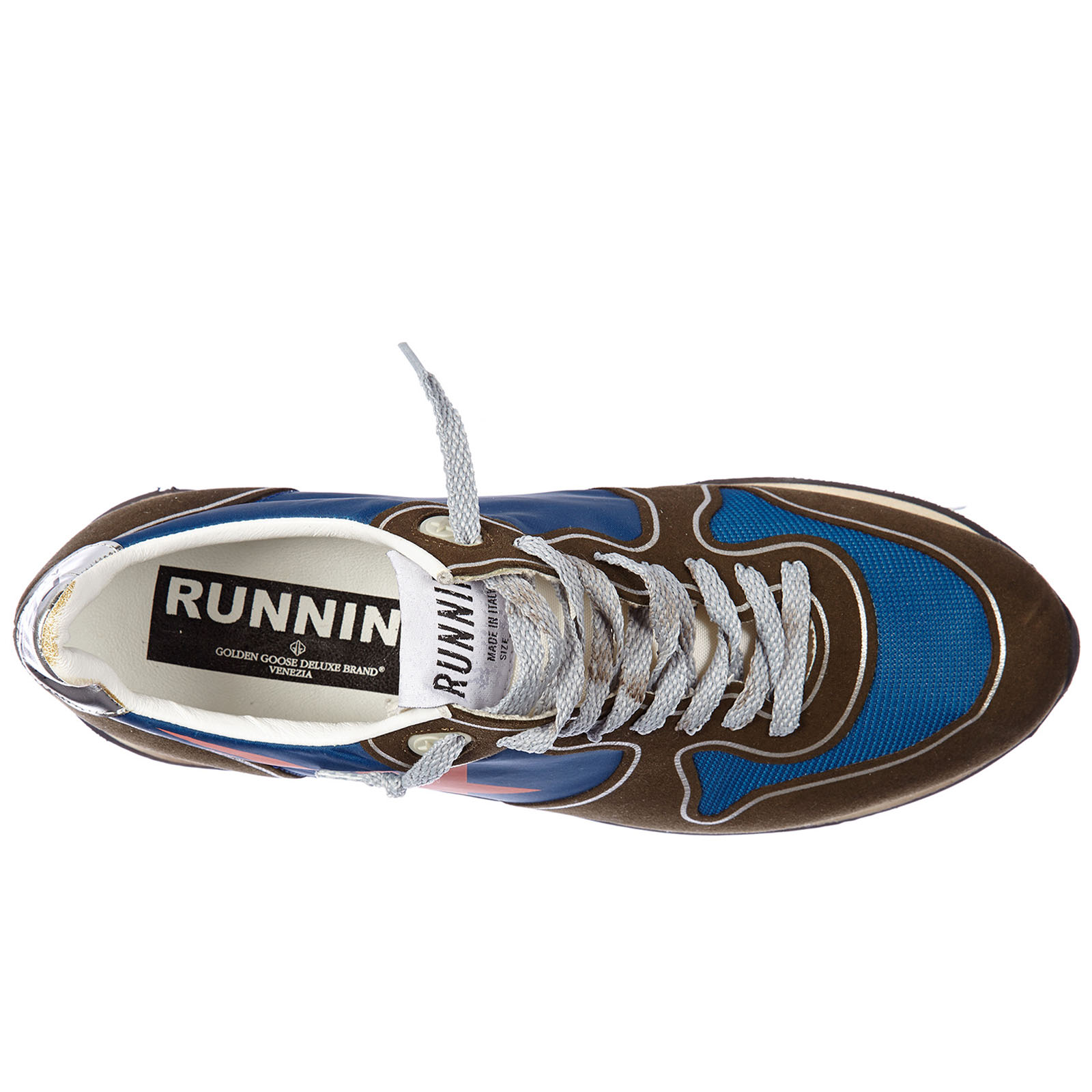 Chaussures baskets sneakers femme en daim running
