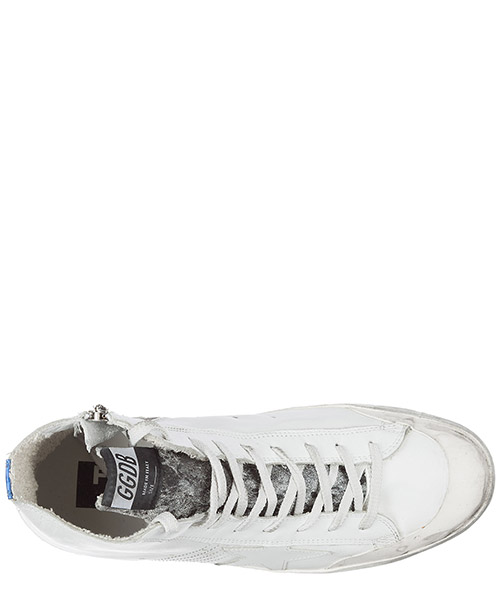 Chaussures baskets sneakers hautes homme en cuir francy limited edition landed secondary image