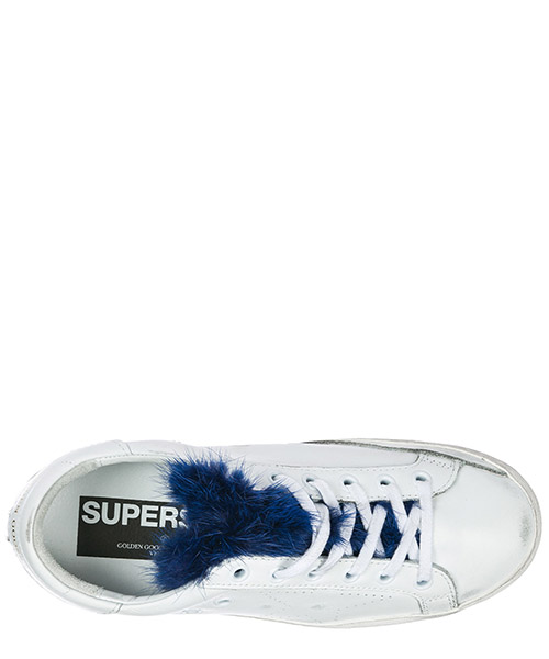 Women's shoes leather trainers sneakers superstar secondary image