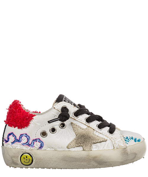 Sneakers Golden Goose Superstar G32KS001.A44 bianco