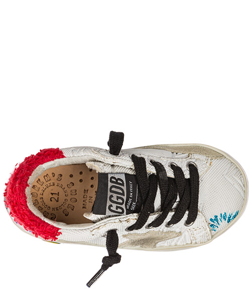 Scarpe sneakers bambina pelle superstar secondary image