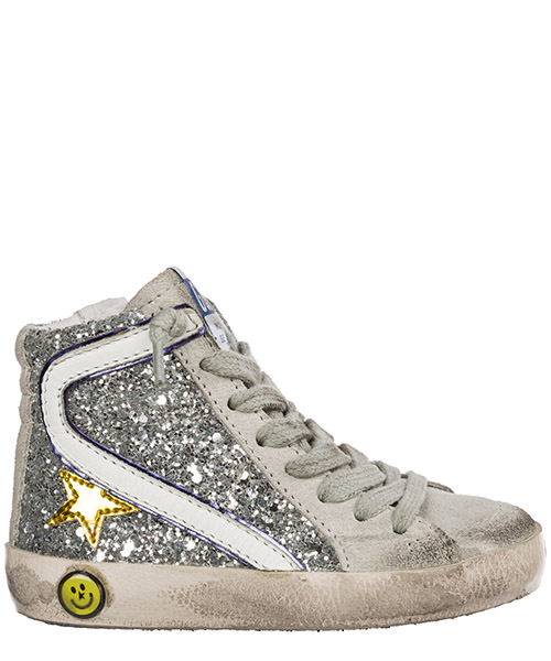 High-top sneakers Golden Goose slide g32ks008.c1 grigio
