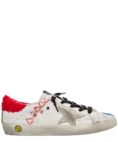 Basket Golden Goose Superstar G32KS301.A44 bianco