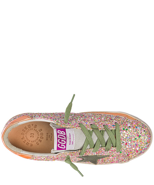 Scarpe sneakers bimba bambina pelle superstar secondary image