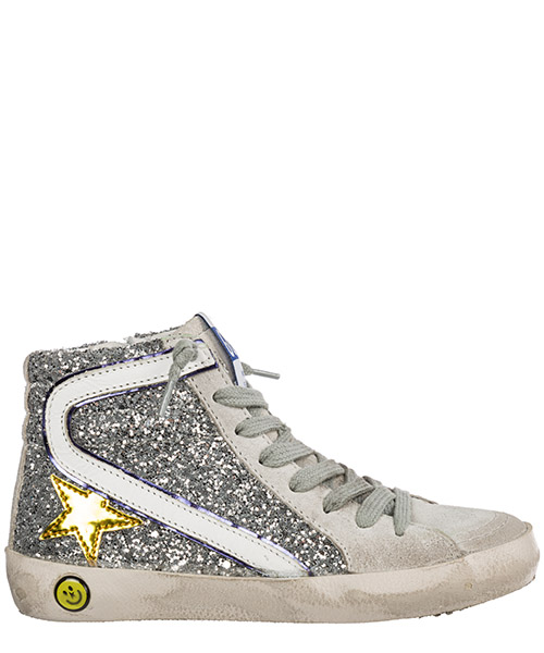 High-top sneakers Golden Goose slide g32ks308.c1 grigio