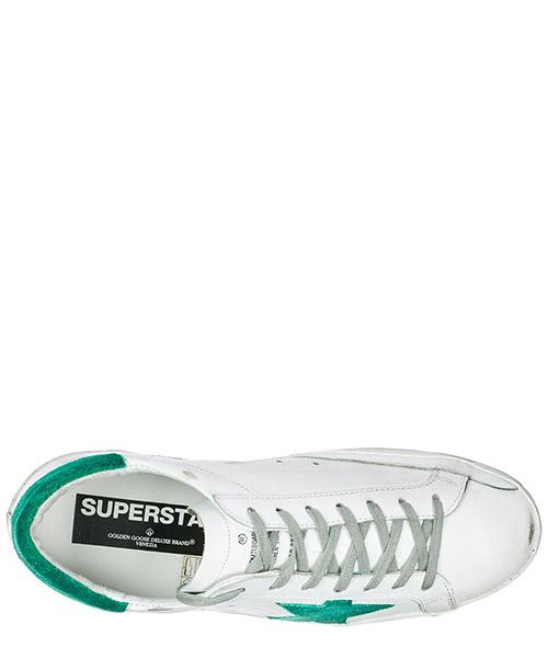 Zapatos zapatillas de deporte hombres en piel superstar secondary image