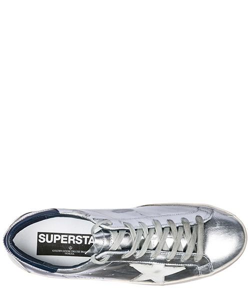 Chaussures baskets sneakers homme en cuir superstar secondary image