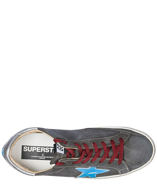 Chaussures baskets sneakers homme en daim superstar secondary image