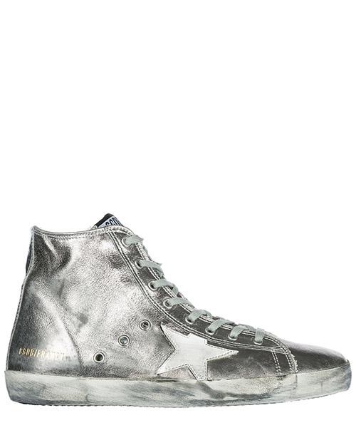 Zapatillas altas Golden Goose G32MS591 B15 argento