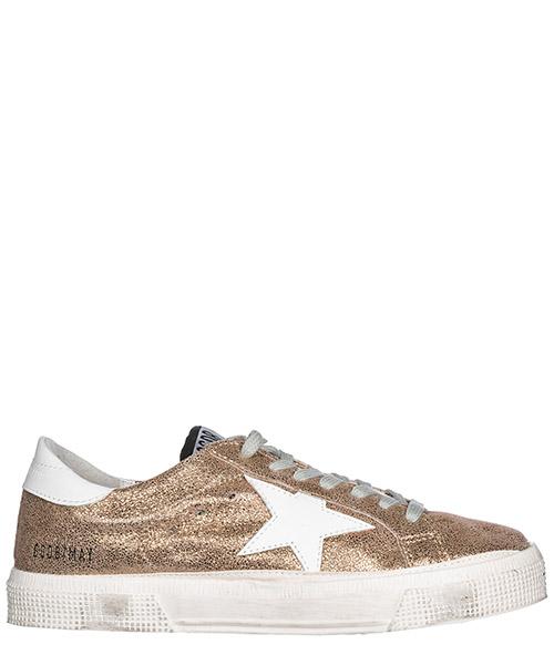 Chaussures baskets sneakers femme en cuir may