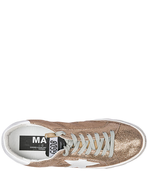 Chaussures baskets sneakers femme en cuir may secondary image