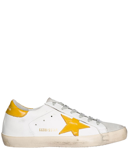 Sneakers Golden Goose G32WS590.D94 white - curry