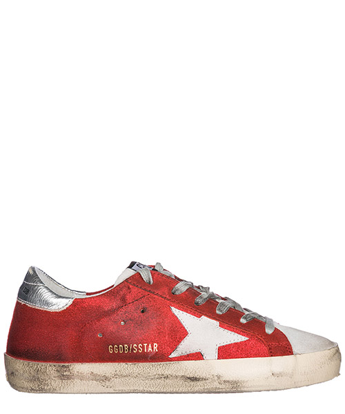 Sneakers Golden Goose G32WS590.D97 rosso