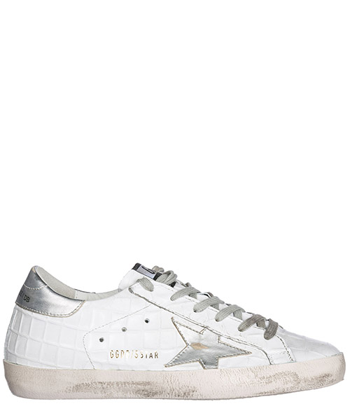 Sneakers Golden Goose G32WS590.D98 printed cocco - silver star