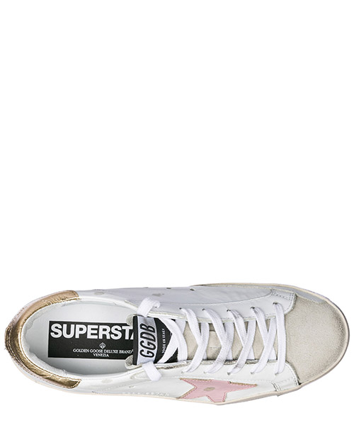 Scarpe sneakers donna in pelle superstar secondary image