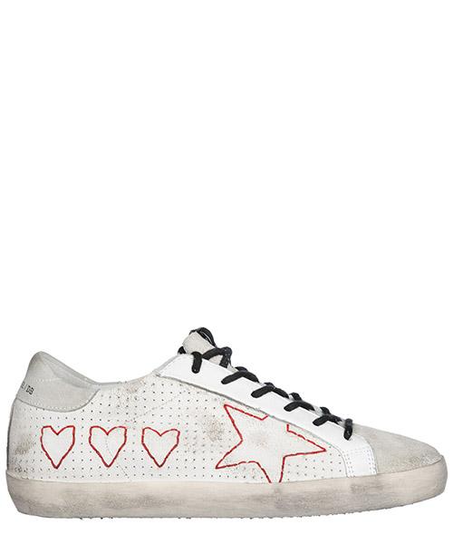 Chaussures baskets sneakers femme en daim