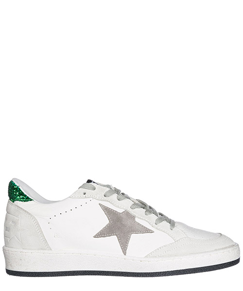 Chaussures baskets sneakers femme en cuir ball star