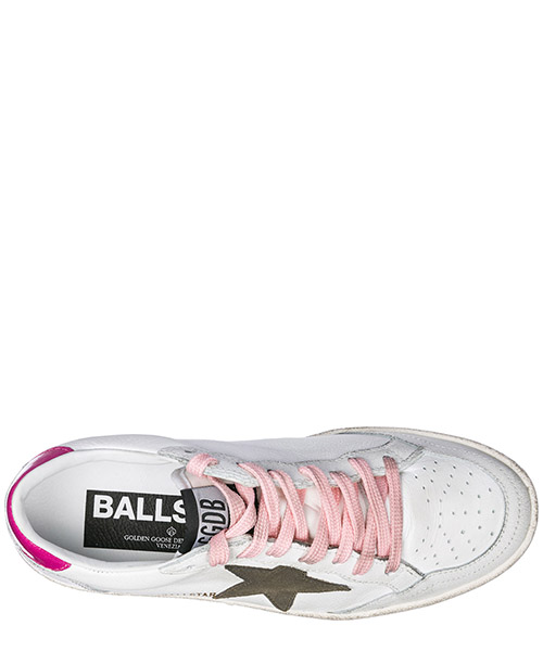 Scarpe sneakers donna in pelle ball star secondary image