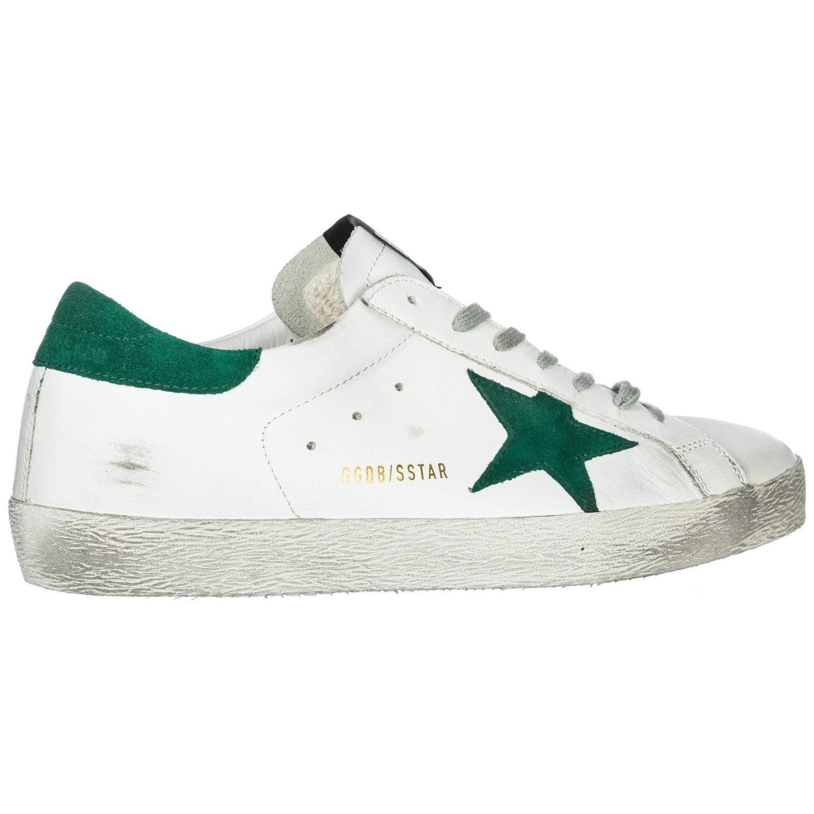 ... Chaussures baskets sneakers homme en cuir superstar ...