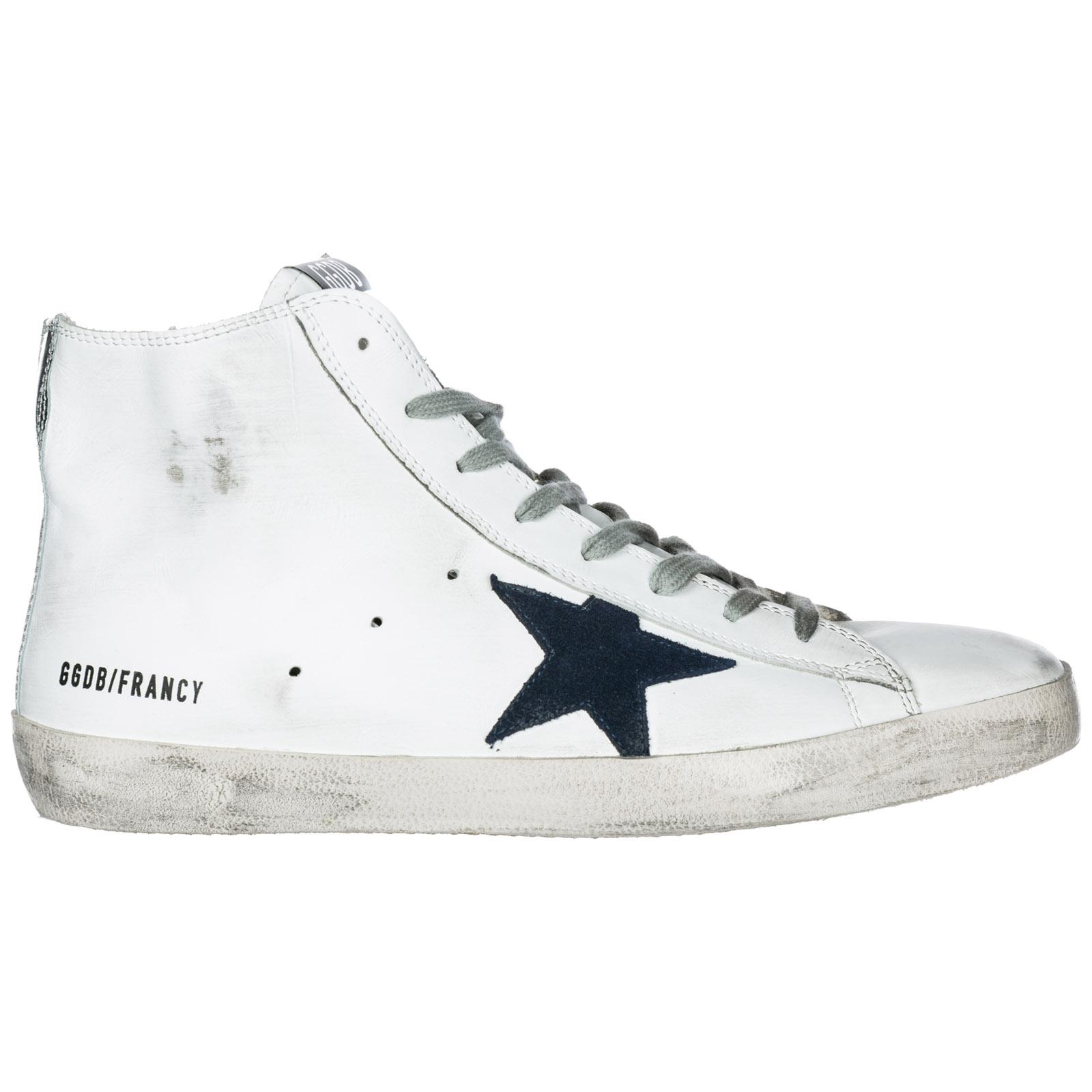 G33ms591 Sneakers Top White b39 High Bluette Goose Golden Francy w6Xanxd5q1