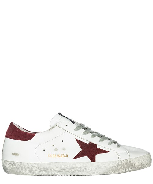 Sneakers Golden Goose Superstar G33MS590.H10 white - red star