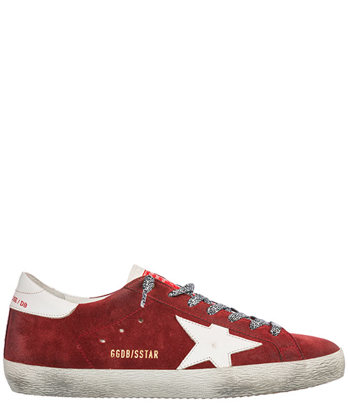 Sneakers Golden Goose Superstar G33MS590.H47 rosso