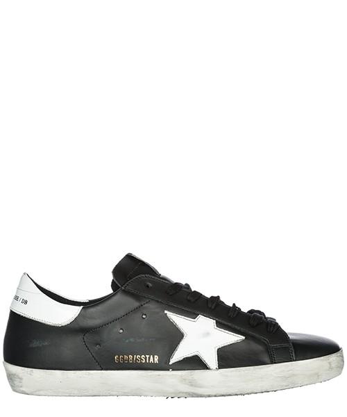 Sneakers Golden Goose Superstar G33MS590.L27 black - white star