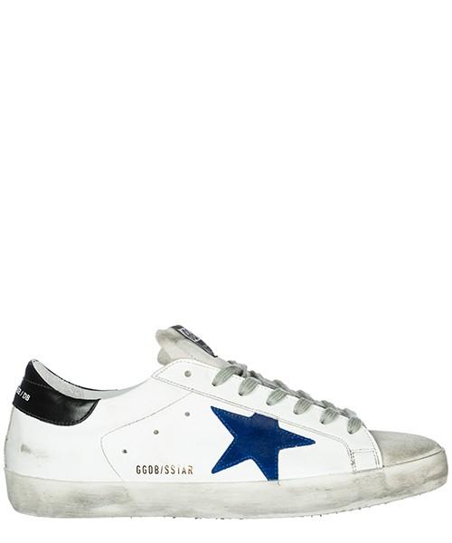 Sneakers Golden Goose Superstar G33MS590.L29 white - bluette - black